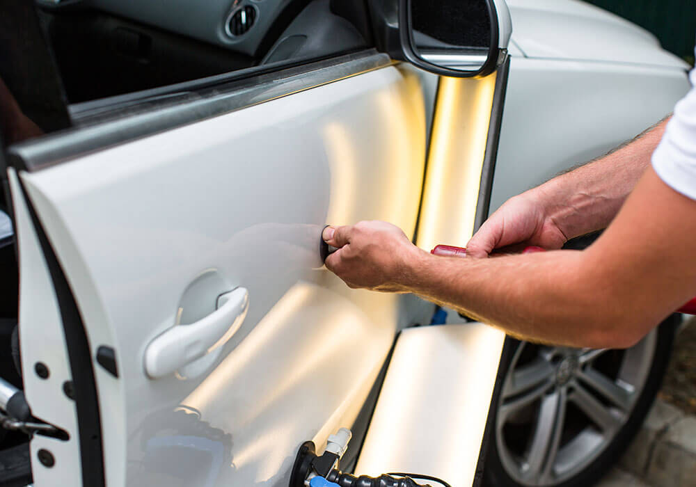 Total 360 Vehicle Reconditioning Center Dent Repair